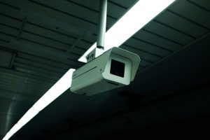 Security camera in the storage unit