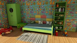 The sooner you unpack a child's room they will be more happier