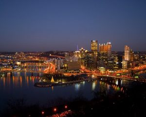 Downtown Pittsburgh - one of top neighborhoods in Pittsburgh