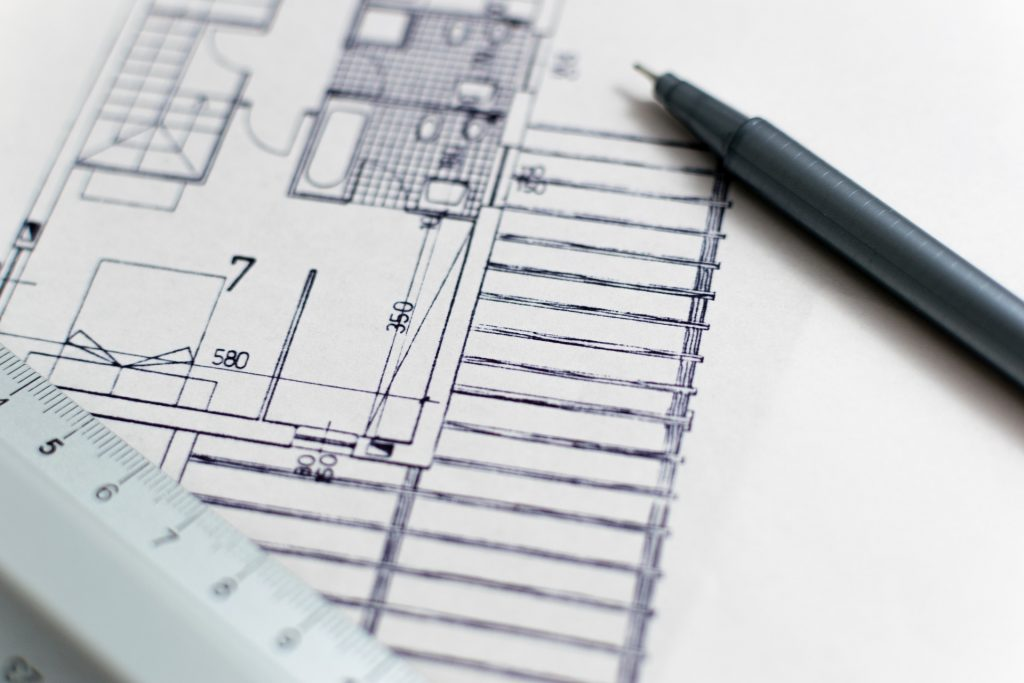 A blueprint - use it to save money on your home renovation.