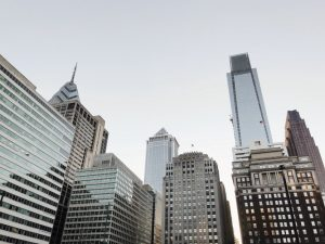 Buildings in Philadelphia, which is one of the best Pennsylvania cities for startups.