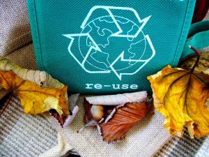 A recycling bag can help you save money on your long distance move.