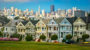 A nice neighborhood at daytime