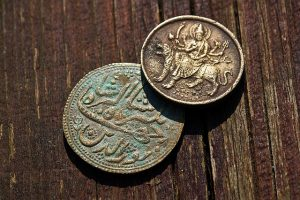 2 old coins