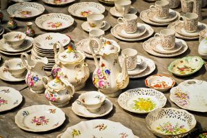 How to Pack Collectibles for a Move such as porcelain tea cups and kettles