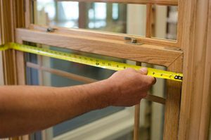 Among things to measure before a move, include your doors and windows.