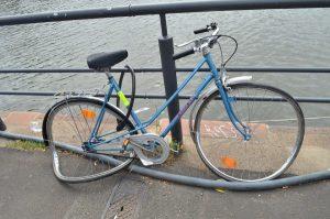 A broken bike