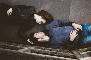 Couple on the ground