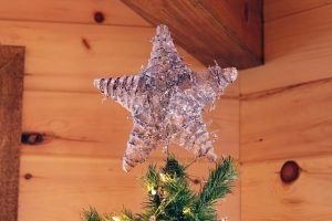 Decorate your home for Christmas and put the tree topper on the top of your Christmas tree